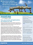 Meantime\'s system has made us much more efficient as a company, Dave Moore, Dove Nest Group